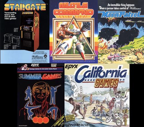 Today's Atari games