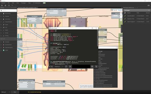 Adding the SpaceAnalysis namespace