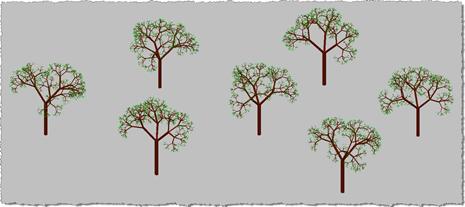 3D trees - 3D view