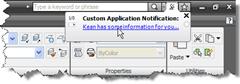 Custom balloon notification