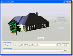 Embedded AutoCAD 2009