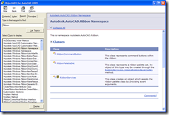 ObjectARX 2009 Managed Reference