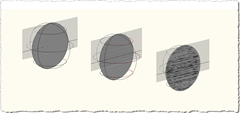 Sectioned Spheres - Orbitting