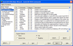 Oem_make_wizard_autocad_commands
