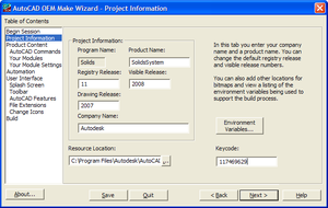 Oem_make_wizard_project_information